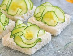 Cucumber Flower HOW-TO - TeaTime magazine