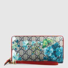 Gucci Portafoglio da polso GG Blooms