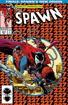 Spawn #227. Cover by Todd McFarlane (after Todd McFarlane).