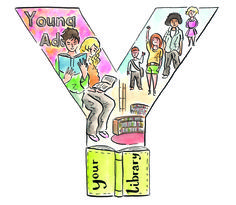 #LibraryAtoZ Y is for young adult; your library; youth.