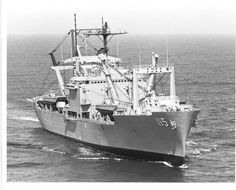 "USS Mobile (AKA-115/LKA-115) 1968, was a Charleston class attack cargo ship. She served as a commissioned ship for 24 years and 4 months. LKA's had the distinction of being the only ships in the ""Gator Navy"" that were not flat bottom. They would drop anchor several hundred yards offshore and use their Mike 8's (LCM-8) and Mike 6's (LCM-6) to ferry in the Marines and their equipment.  The ship was laid down at 15 January 1968 as AKA-115. Mobile was extensively involved in the Vietnam War…"
