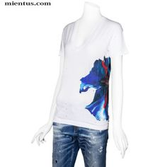 DSQUARED2 T-Shirt Printed Flower