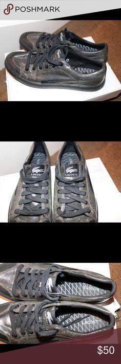 9daa23b3526360 Lacoste shoes. Shop Men s Lacoste Black ...