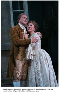 Costumes from the Marriage of Figaro.