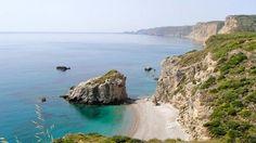 Kaladi Beach, Cythera, Greece