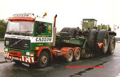 E398 SLS Cadzow Heavy Haulage Volvo F12 6 x 4 | Flickr - Photo ...