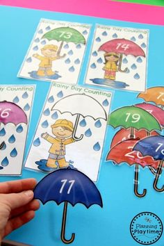 Teen Number Counting Activities for Kindergarten and First Grade