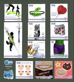 Second Life Freebies and more: Static
