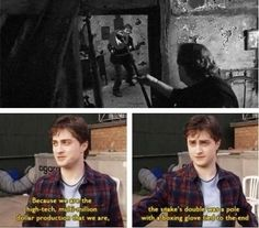 That time he revealed the truth about Nagini.   25 Times The Internet Fell In Love With Daniel Radcliffe