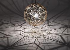Suspension mathématiques Etch Web par Tom Dixon #design #light