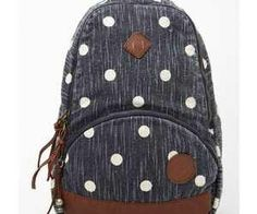 brand new 1035a d4e59 Dunno why bt I fin this bag just so cute  ) Polka Dot Rucksack,