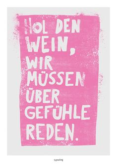 Poster mit Spruch // love quote poster print via DaWanda.com