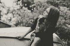 #beautiful #beauty #black and white #dress #fashion #girl #lady #model #person #thinking #wear #woman