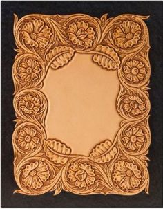 Tooled Leather Patterns Template,