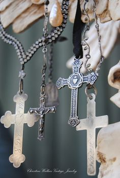 """Christine Wallace... """"Honoring Life Through Jewelry"""": The Cross..."""