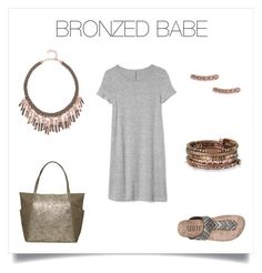 Bronze is trending for Fall 2017 -- and you will be, too, in this gorgeous, simple look!