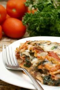 Groente lasagne | Smulweb.nl