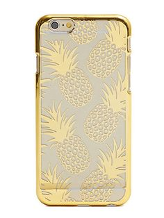 Skinnydip iPhone 6 Gold Pineapple Case £12
