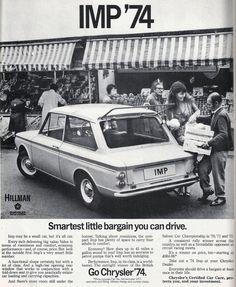 1973 HILLMAN IMP ADVERT
