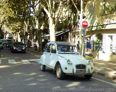 on a street in Uzes Languedoc Roussillon France Southern France, Camping Car, Belle Photo, Great Photos, Location, Street, Shutters, Sunflowers, Provence