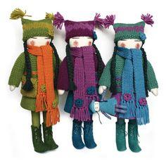 unique individually dressed felt dolls ak dolls are made individually ...330 x 330 | 29.1 KB | www.aktraditions.com