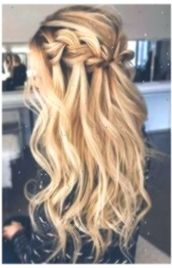 The best ball hairstyles, whether you& stuck or half-open, you& find them . - The best ball hairstyles, no matter if you are stuck or half-open, you will find them … – Hairs - Romantic Wedding Hair, Wedding Hair Down, Wedding Hair And Makeup, Wedding Curls, Wedding Braids, Prom Makeup, Hair Makeup, Ball Hairstyles, Box Braids Hairstyles