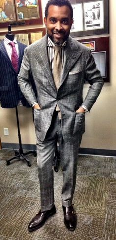 Bespoke Couture-Mark & Marlon Austin -Like suit, tie too long !