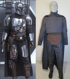 Mandalorian Costume, Mandalorian Armor, Traje Jedi, Cosplay Diy, Cosplay Ideas, Custom Made Suits, Dark Grey Color, Star Wars Darth, Marvel