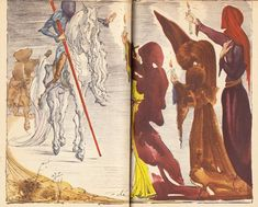 Salvador Dalí Illustrates Don Quixote – Brain Pickings