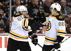 Marchand and Pastrnak❤