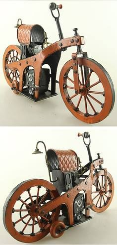 1885 Benz - The World's First Motorcycle                                                                                                                                                     More