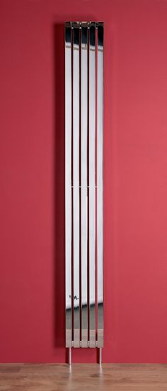 The sleek lines of this brushed or polished stainless steel radiator bring uncomplicated style to any setting.  The Zermatt can be installed vertically or horizontally and gives a great heat output.