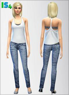 Jeans 1 at Irida Sims4 via Sims 4 Updates