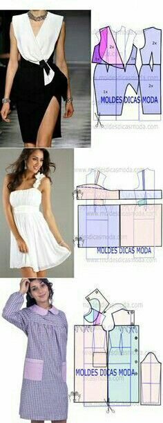 Clothing Patterns, Dress Patterns, Sewing Patterns, Sewing Tutorials, Sewing Crafts, Couture Fashion, Creative Design, American Girl, One Piece
