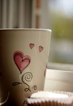 tasse coeur