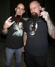 Scott Ian & Kerry King! \m/