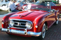 """1952 Pininfarina-styled Nash-Healey roadster. This is the car from the original """"Sabrina"""""""