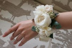 For the bridesmaids, instead of bouquets?