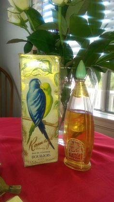 Vintage Ramage Bourjois Perfume Bottle with Box