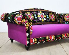 SOLD. Flowers Charm Sofa by BirBor on Etsy