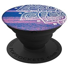 PopSockets: Expanding Stand and Grip for Smartphones and Tablets (Peace Mandala Tiffany)