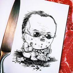 Baby Terrors – Les personnages cultes des films d'horreur retombent en enfance