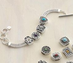 Lori Bonn Slide Charm Bracelet & Birthstone Charms at Cambria Cove_1272391219627