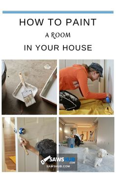How to Paint a Room in Your House | Bathroom DIY Projects ...