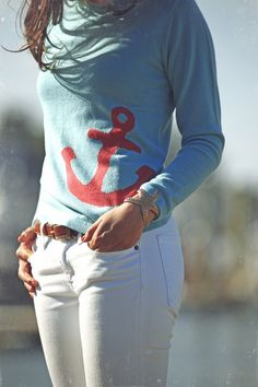 Anchor cashmere sweater