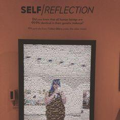 """#mopa"" Interactive Installation, Human Connection, Reflection, Mosaic, Self, Instagram Posts, Mosaics, Mosaic Art"