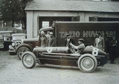 Tazio Nuvolari su Alfa Romeo P3, GP Italia Monza 1932