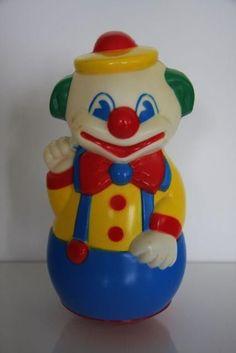 Tuimelaar clown.