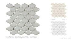 Contempo Avant Garde - Surface Art, Inc. Mosaic Backsplash, Tile, Surface Art, Lanterns, Mid Century, Modern, Kitchen Inspiration, Mosaics, Warm
