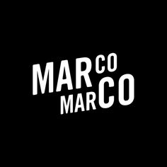 Marco Marco designed by Acre. #logo #branding #design